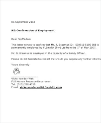 employment letter examples employment proof letter sample proof of employment letter employment