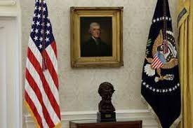 oval office wallpaper. The New Oval Office Wallpaper. \u0027The Obama Wallpaper Was Very Damaged. There Were L
