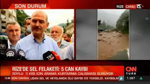 Rize'de sel felaketi! Açıklama geldi - Son Dakika Haberleri