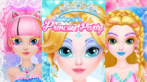 makeup salon princess party free game for kids app little wishes video games