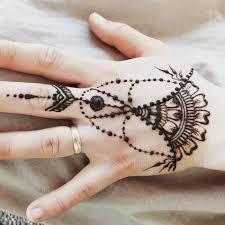Jagua Nebo Henna Tattoo Dočasné Tetování 12135