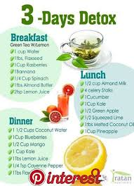 juice cleanse recipe 3 day image of
