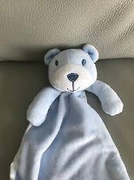 baby new matalan blue teddy bear