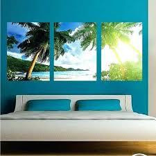 wall murals decals beach scene wall murals palm tree mural decal art decals large tropical beach