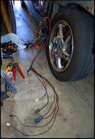 how to diy wire tucking engine bay side harnesses for '94 '01 3rd rywire b series harness install at Wire Tuck Harness