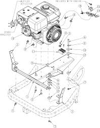Land pride runabout vehicle engine with mounts assembly diagram
