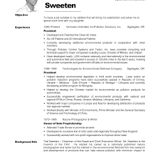 Cover Letter Emt Resume Objective Sample Ted Sweeten Writing No