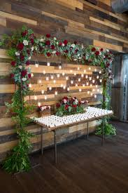Winter Wedding Seating Chart Ideas 35 Awesome Festive Christmas Theme Winter Wedding Ideas