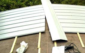how to install a metal roof on a shed metal roof mobile home metal roof options