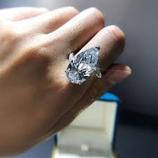Hedy Fashion Luxury Pear Cut Engagement Ring Cocktail Ring for Party –  hedyjewelry