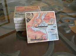 How To Make Nautical Shipwreck Chart Coasters Easy Diy Do