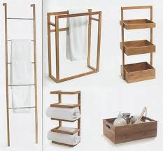 bathroom towel hangers ideas wooden rails and wood bath regarding holder stand design 15