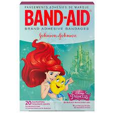 band aid children s disney princess adhesive bandages orted sizes20 0 ea