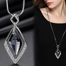 fashion long pendants necklaces