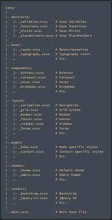 Using the <b>7</b>–<b>1</b> Sass/SCSS <b>Pattern</b> with Angular 7 - Aaron Verones ...
