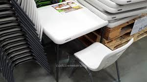 costco folding tables popular of 6 ft table with lifetime fold in half uk gorgeous capture