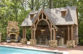 Image Floor Outdoor Pool And Fireplace Designs Outdoor Kitchen And Pool House Case Indianapolis And Carmel Pinterest Outdoor Pool And Fireplace Designs Outdoor Kitchen And Pool House