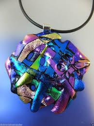 dichroic glass jewelry