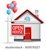 Image result for open house sign clip art