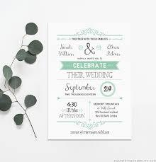 downloadable wedding invitations free wedding invitation template mountainmodernlife com