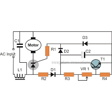 how to build a high torque dc motor speed controller circuit scr controlled closed loop type ac motor speed controller circuit diagram