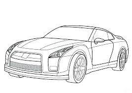 Sport Cars Coloring Pages Sports Cars Coloring Pages Fast Car
