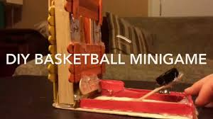 Wooden Basketball Game DIY Basketball Mini Game YouTube 50