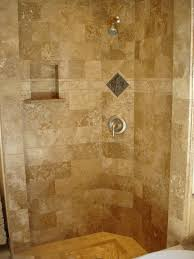 travertine tile shower floor.  Travertine The Simple Brick Pattern Travertine Tiles Laid In Any Warm Color Look  Appealing Add A Pop Of With Pretty Mosaic The Middle And You Will Have  In Travertine Tile Shower Floor