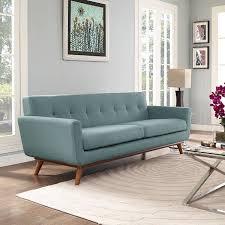Light Blue Mid Century Sofa 30 Mid Century Modern Sofas That Make Your Lounge Look The Era