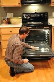 clean inside glass oven door oven why will the bottom element in the oven not work clean inside glass oven door