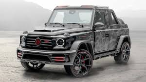 2021 amg g63 colors, from white or matte black to silver and custom bronze. Mansory Makes Star Trooper Pickup Based On Mercedes Benz G Class