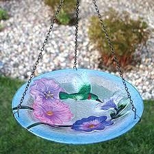 hummingbird bird bath diy bird essentials embossed glass hummingbird bird bath mister diy