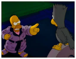 The Simpsons Treehouse Of Horror The Raven  Springfield USA Simpsons Treehouse Of Horror Raven