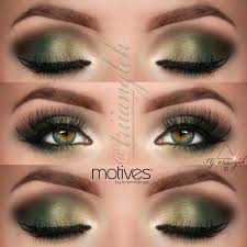 cute makeup ideas for green eyes photo 3