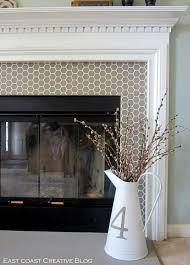fireplace floor tile around diy modern design with tv tiles decorating corner napoleon mantel shelf