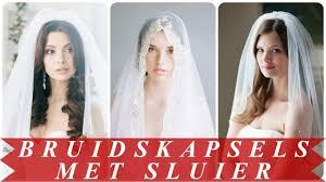 Leuke Bruidskapsels Met Sluier 2018