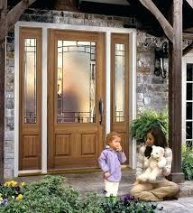 glass panel exterior door 2 panel front door oak textured 2 panel door lite with element