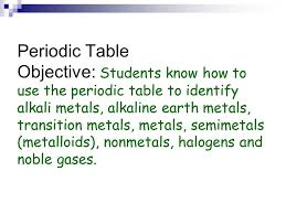 Friday 12/04/15 Objectives Understand the general trends in atomic ...