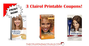 3 Clairol Printable Coupons Were Just