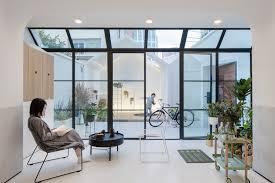 home white. A White House, Growing Home / Kai Liu, Give The Kid Bigger L