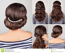 Self Hair Style hairstyle long hair tutorial stock photos images & pictures 5382 by wearticles.com