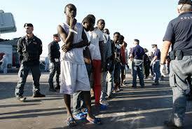 Image result for migrants in italian town of brescia