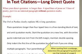 How To Insert A Large Quote In An Essay Mla Rhythtepentai
