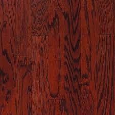 millstead oak bordeaux 3 8 in thick x 3 3 4 in wide x random length engineered hardwood flooring 24 4 sq ft case pf9592 the home depot
