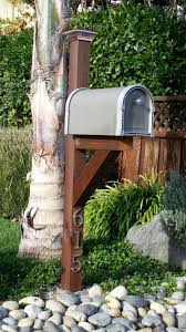 Finshed Even Added A Solar Light Mailbox Front Yard