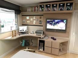 home office computer. Home Office Computer Desk With Hutch In Dark Walnut Finish Dica Atima Para Quem Esta Reformando