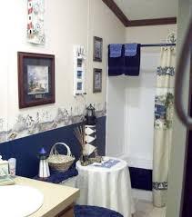 Nautical Bathroom Decorations Lighthouse Bathroom Decor With Table Nautical Lighthouse