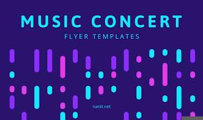 Concert Flyer Templates Free Best Music Concert Poster Templates Flyer Designs Tumli