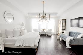 master bedroom refresh decor gold designs