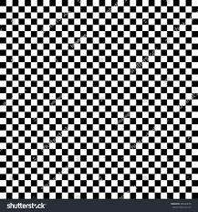 Checkered Design Modern Checkered Pattern Black White Texture Stock Vector